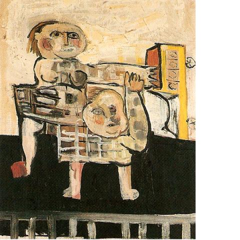 Kinderkamer schilderijtje